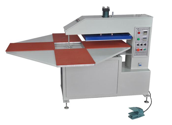东莞美言印花机械全自动液压旋转式四工位烫画机
