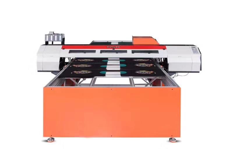 厂家直销赛图数码直喷印花机纯棉T恤印花机跑台机