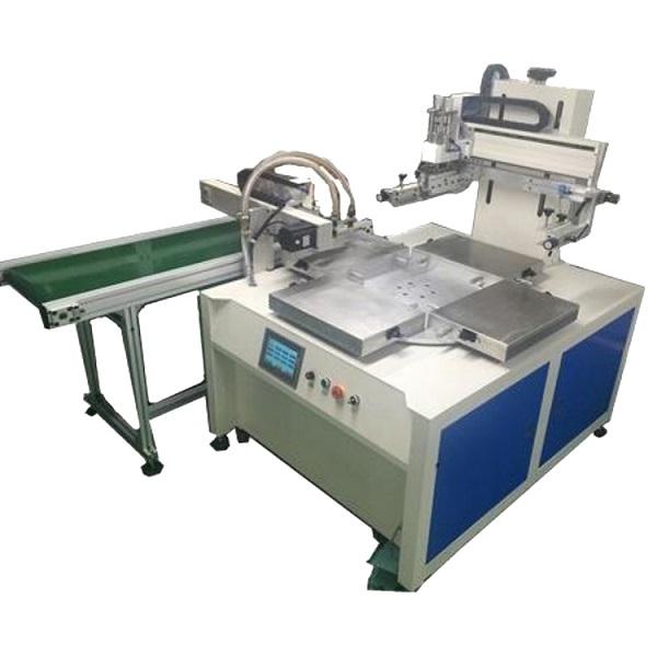 玻璃丝印机亚克力镜片网印机玻璃视窗丝网印刷机