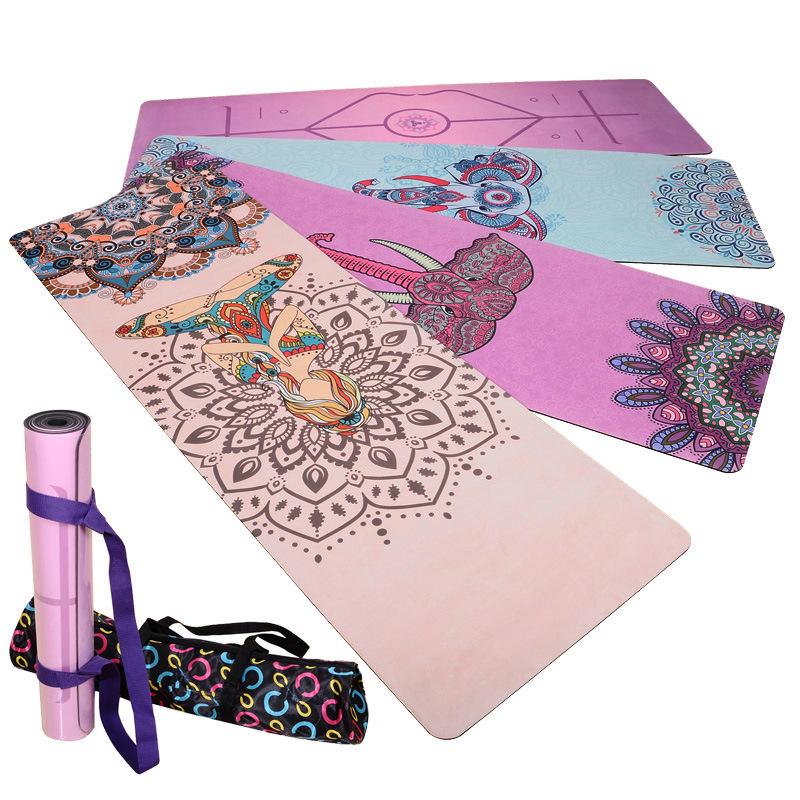 义乌厂家定制加工瑜伽垫瑜伽垫防滑垫高清数码彩印机PVC打印机