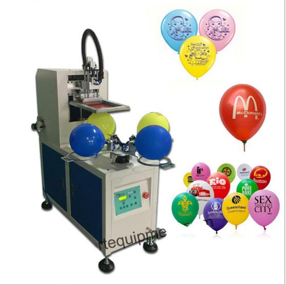 气球丝印机乳胶气球多色丝印机铝膜气球丝网印刷机
