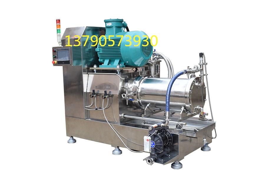 全陶瓷涡轮纳米砂磨机