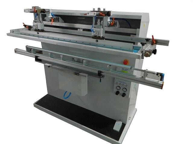 280R智能高效圆曲面丝印机系列,鱼竿丝网印刷机