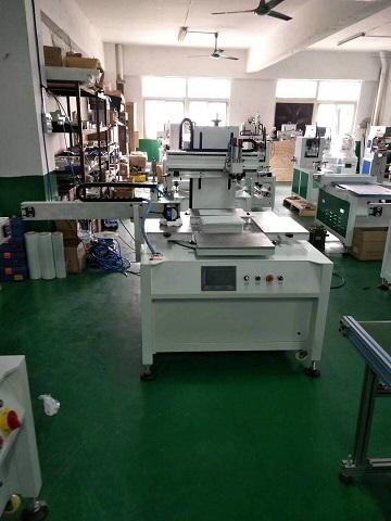 6050P双色转盘丝印机系列,电器丝网印刷机