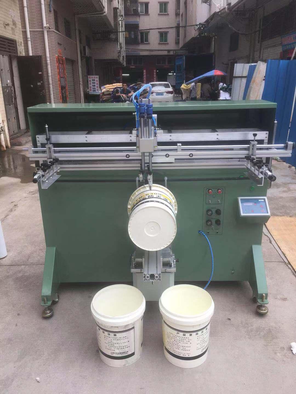 涂料桶丝印机机油桶滚印机乳胶漆胶水桶丝网印刷机