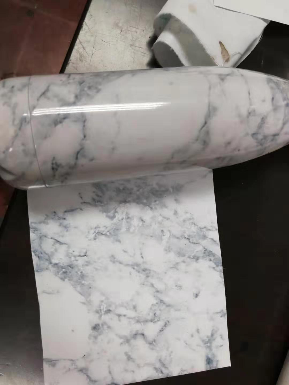 供应不锈钢保温杯包花纸,大理石纹新款