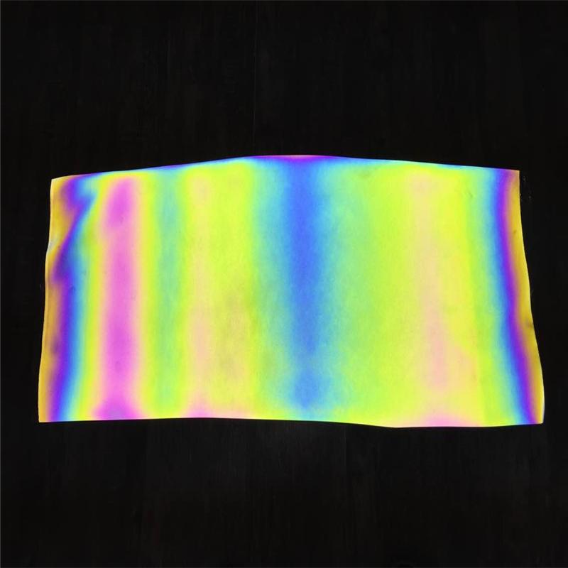 创时丝印反光幻彩转移膜反光幻彩丝印膜