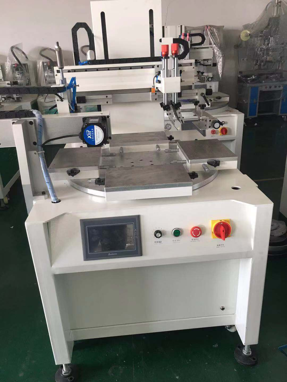 广州市手机电池丝印机硅胶按键网印机触摸开关丝网印刷机厂家