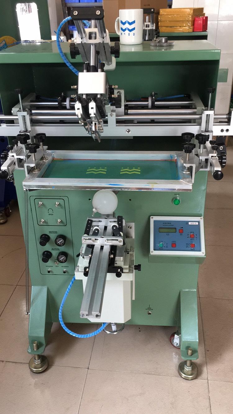 茂名市热水壶丝印机茶壶外壳滚印机玻璃壶丝网印刷机厂家