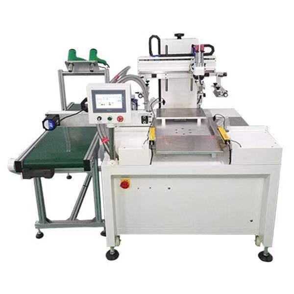 湛江市陶瓷贴纸丝印机薄膜开关网印机硅胶按键丝网印刷机厂家