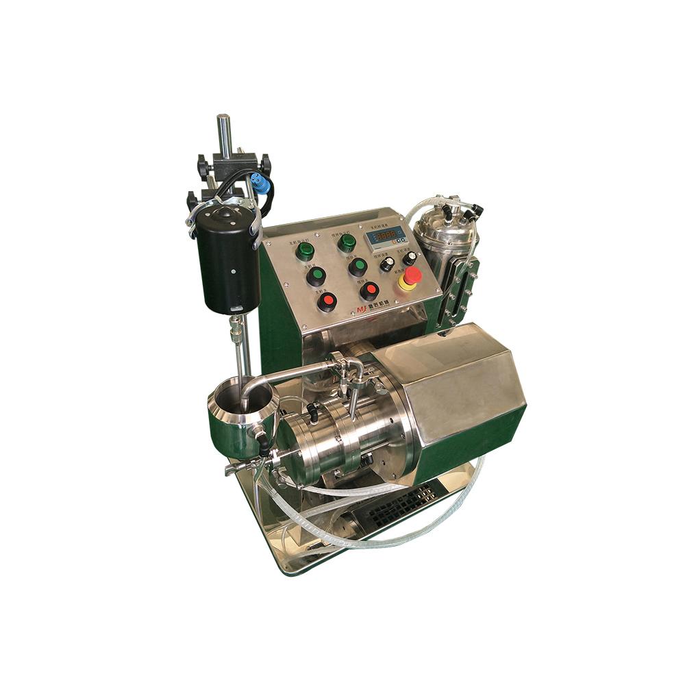 磨匠MJ-NB03小型实验室砂磨机陶瓷棒销实验砂磨机