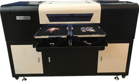 双工位数码白墨打印机服装印花机