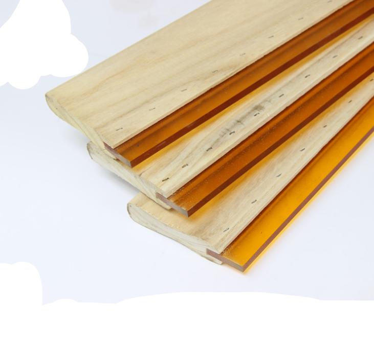 丝印器材油墨油性木柄刮刀胶刮板耐磨丝印油墨刮刀油性刮板刮刀