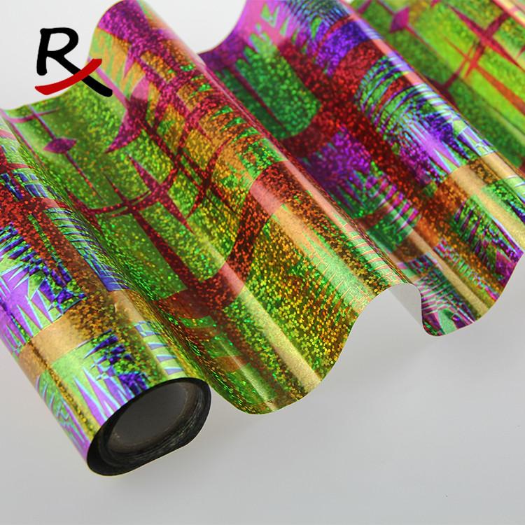 厂家批发供应新镭射PET烫印箔皮革布料通用烫金纸多色烫金膜包邮