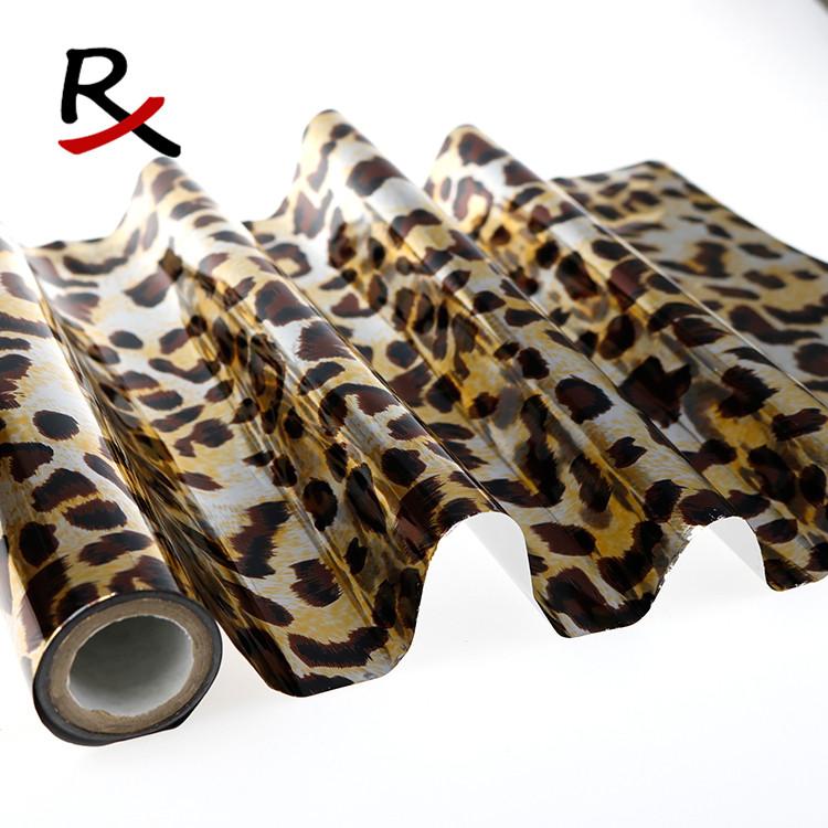 动物纹镭射烫金纸豹纹虎皮纹斑马纹tpu刻字膜pu热转印刻字膜
