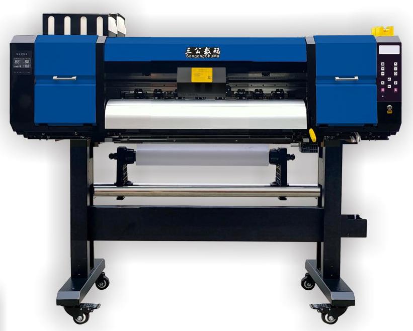 無描邊深淺色燙畫免切割水性白墨數碼燙畫打印機新款