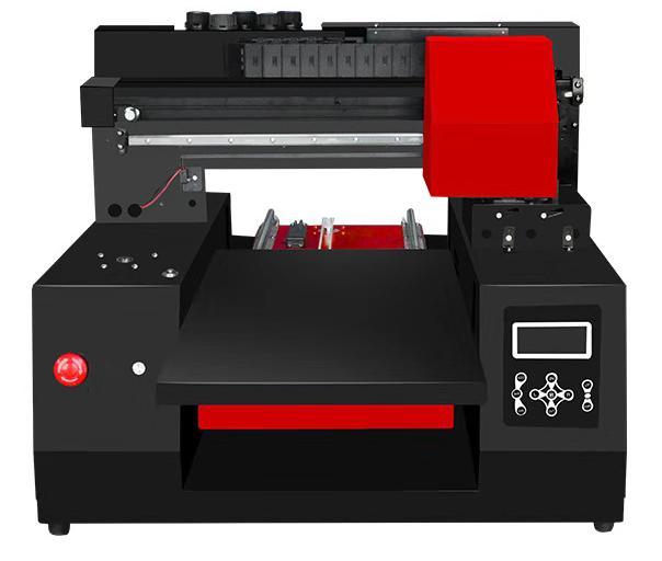 尚彩布料衣服純棉T恤印花機服裝數碼圖案定制廠家直銷小型打印機