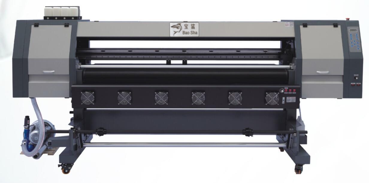 宝鲨皮革数码印花网带机V8E-2DX5、V8E-3DX5