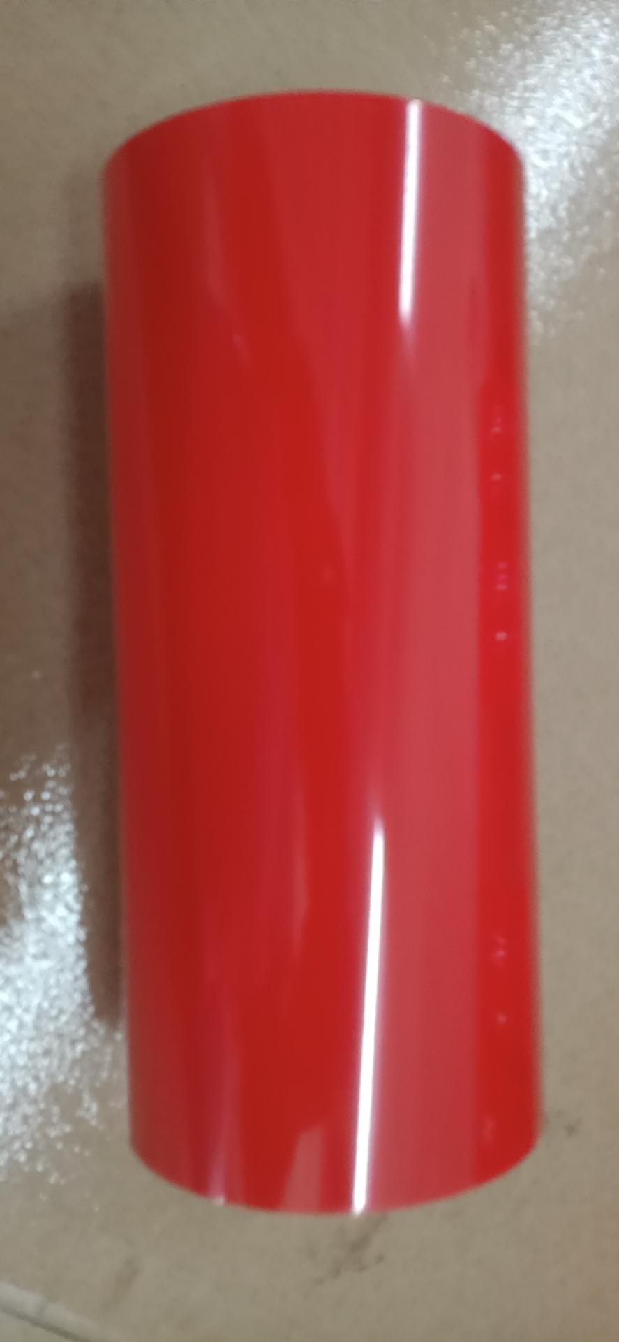 红色车牌专用烫金纸烫塑料红色烫金膜红色烫印箔现货供应