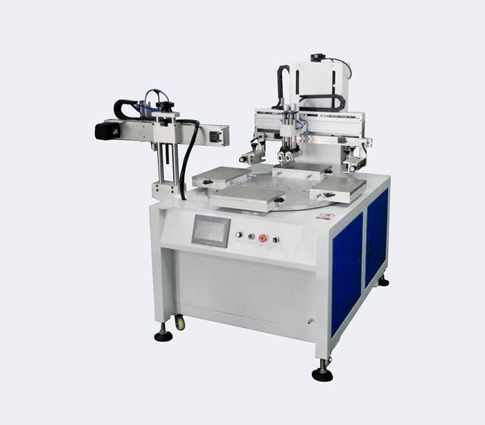 五金外壳网印机塑胶外壳丝网印刷机厂家