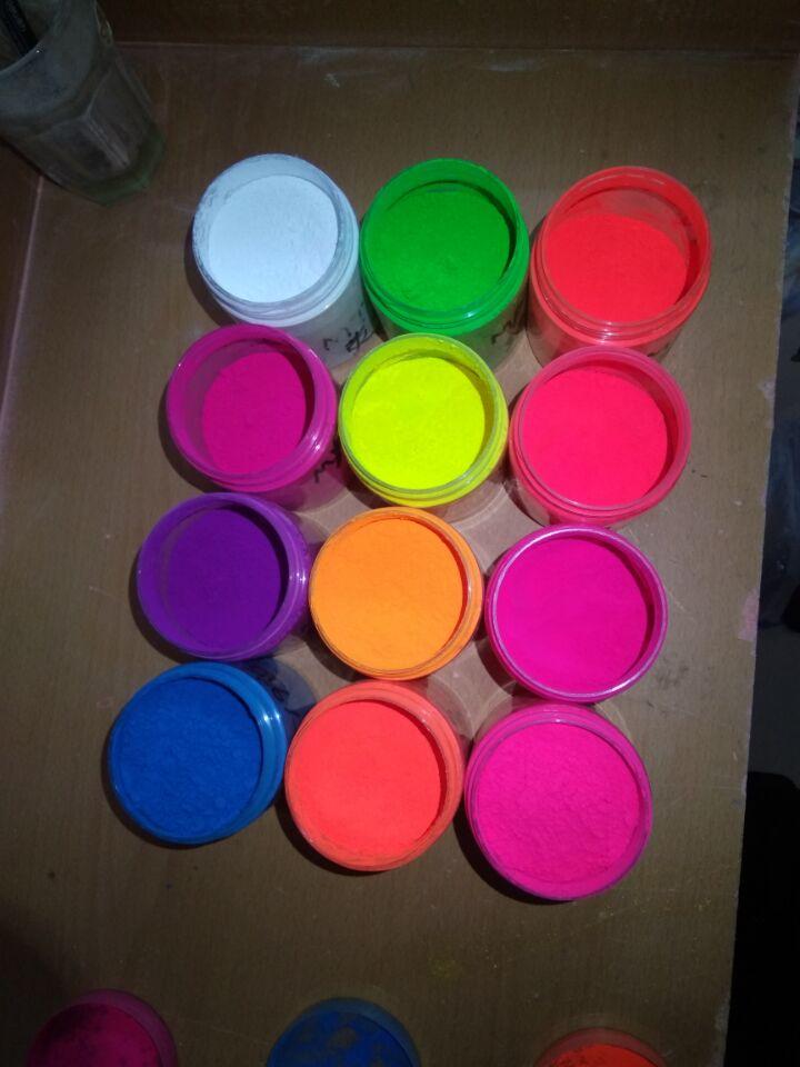 水性涂料荧光颜料印花浆荧光粉水性漆荧光色粉