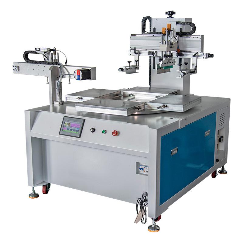 纸张吊牌丝印机纸张胶水全自动印刷机厂家