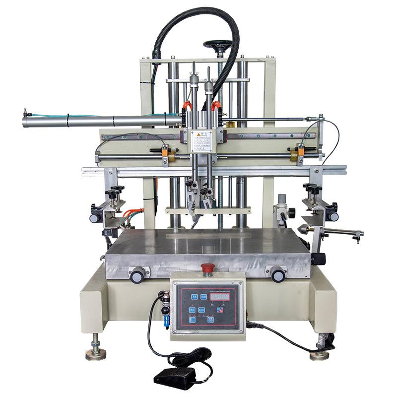 刹车片丝印机铝牌丝网印刷机钢片网印机
