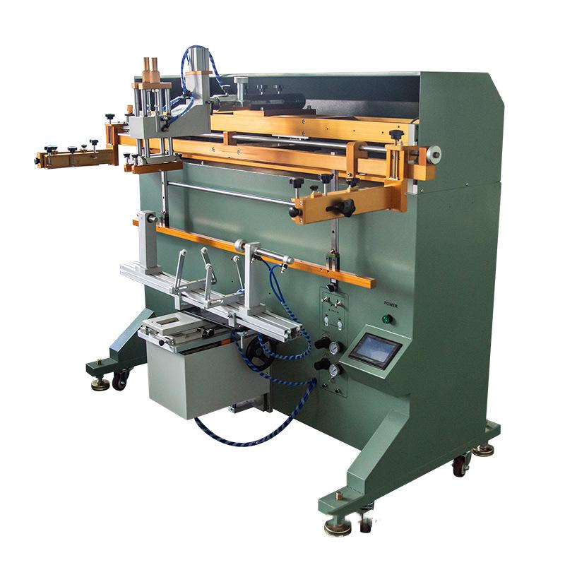 润滑油桶丝印机乳胶漆桶丝网印刷机化工桶滚印机