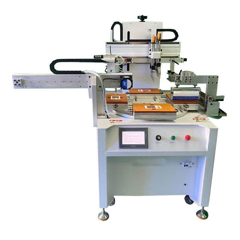 pvc镜片丝印机pvc面板丝网印刷机亚克力网印机