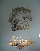 金银箔烫画