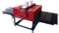 福建福州FZLCB4气动大面积双工位热转印机60*80cm烫画机