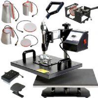 厂家年末促销数码印刷设备八合一多功能烫画机8合1热升华机