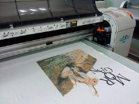 平板打印机武腾高速平板打印机纯棉直喷平板打印机