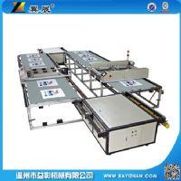 全自动丝网印刷机\台板跑台丝印机\平网印花机\定位快套色准价格
