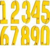 刻字膜号码标