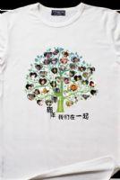 广州班服定制广州广告衫定制个性动漫T恤印花订制