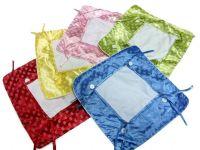 热转印烫画绑扣带穗创意枕套