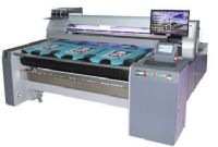 多功能数码直喷导带印花机,裁片匹装深色一体机