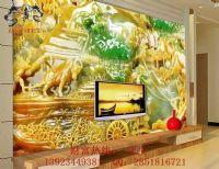 电视瓷砖背景墙印花机彩雕瓷砖幻彩上色喷绘设备