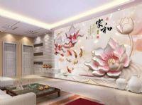 电视沙发客厅瓷砖背景墙彩印机彩雕个性瓷砖幻彩上色平板打印机