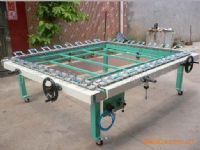 拉网机绷网机手轮式拉网机气动拉多机精密拉网机制版机
