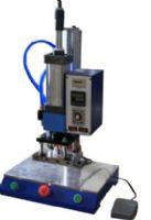皮革压纹机,皮制品商标烙印机