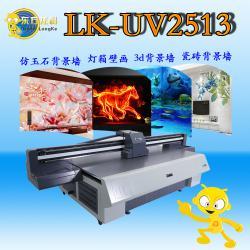 深圳uv平板打印机理光G5喷头八色2513打印项目雪弗板背景墙万能打印机