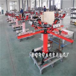 厂家直销立柱式双轮转印花机