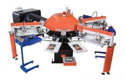 数码直喷数码印花机全自动丝印机