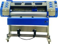 行业领先服装印画机卷布数码滚筒式热转印机双爱普生5113喷头