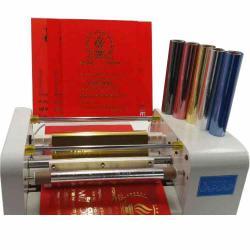 高品质冷烫烫金纸,可烫过UV油纸张,适用于胶版和柔版印刷