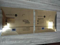 东莹双面金双面银胶片烫金纸白版和印刷版通用烫大面积效果佳