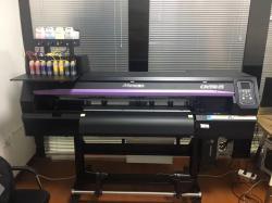 MImaki喷刻一体机弱溶剂打印机烫画pu写真机