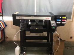 brother数码印花机服装打印机数码直喷印花服装打印机